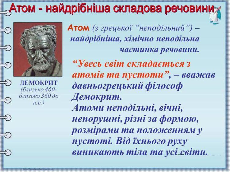 Атом - опис і визначення
