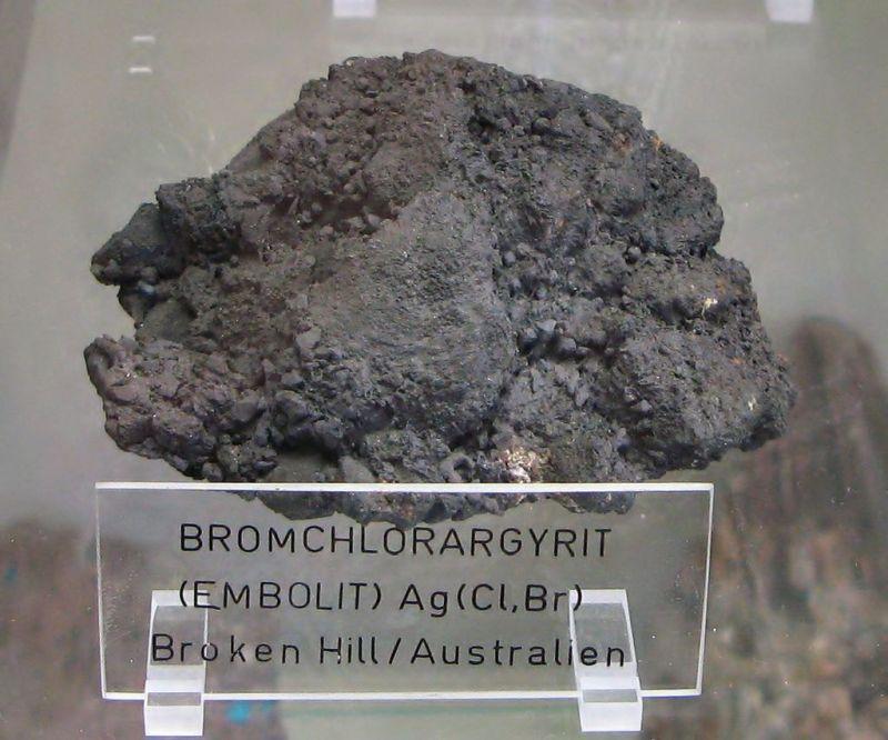Австралійський емболіт — Ag(Cl, Br)