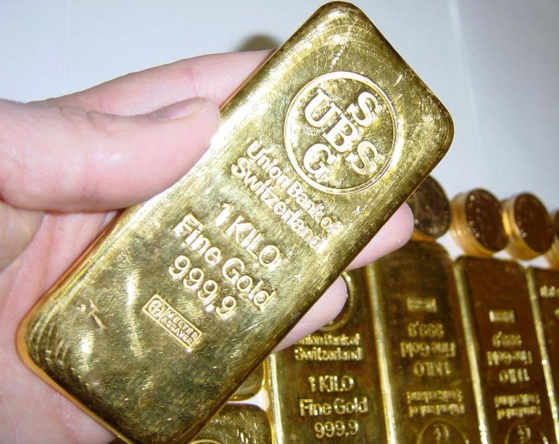 Банківський злиток золота