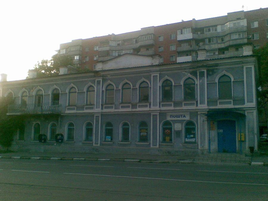 Будинок у Херсоні, в якому була обладнана перша в Україні цивільна радіостанція та встановлено бездротовий зв'язок між Херсоном та Голою Пристанню