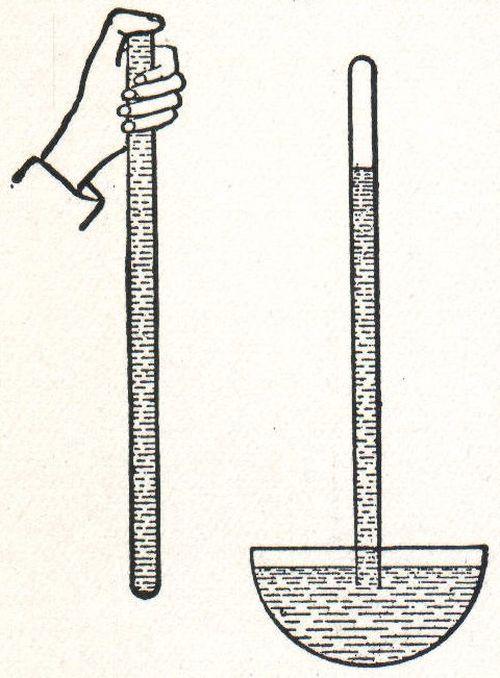 Дослід Торрічеллі - наочний приклад