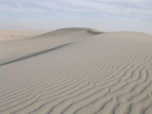 Дюни з піску (SiO2)