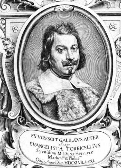 Еванджеліста Торрічеллі - портрет
