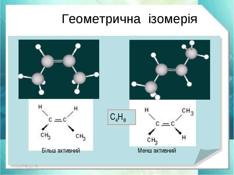 Геометрична ізомерія