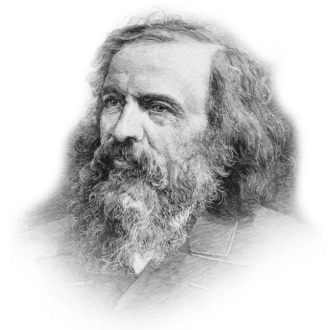 Менделеєв - портрет