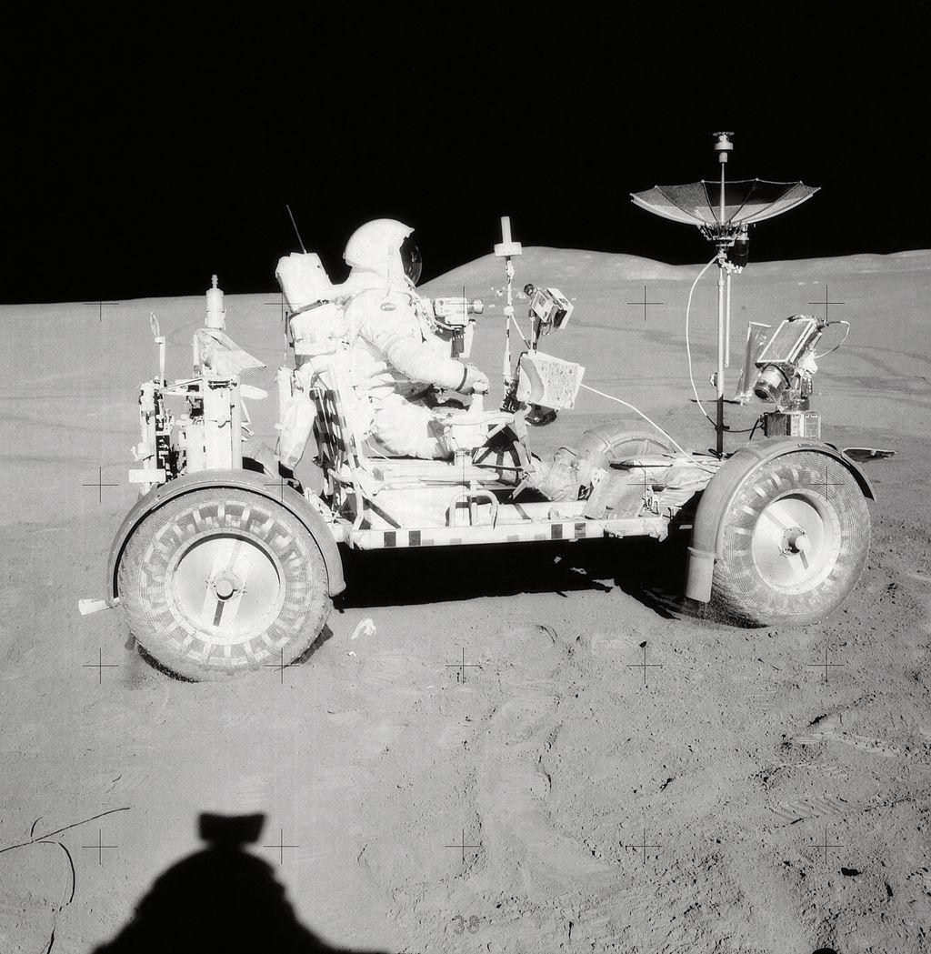 Місія «Аполлон-15». Місячний ровер