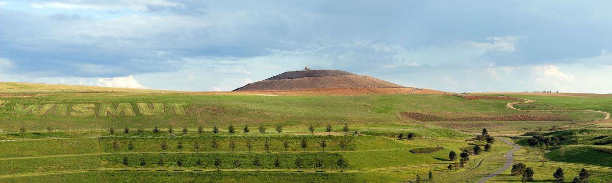 Рекультивована площа «Neue Landschaft Ronneburg[de]»