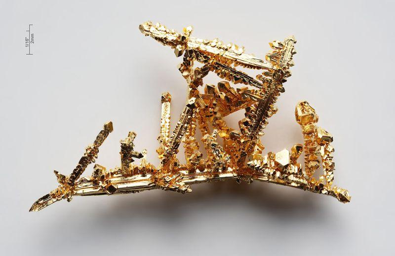 Синтетичні кристали золота
