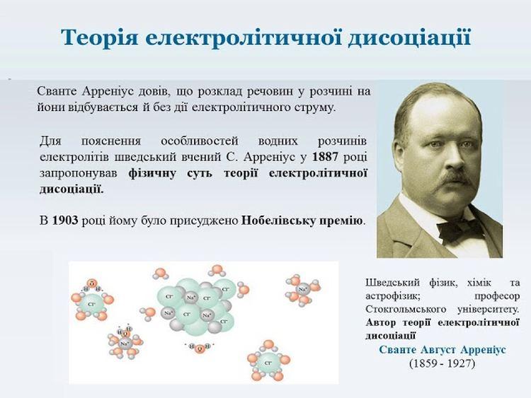 Теорія електролітичної дисоціації
