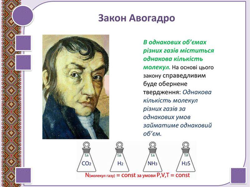 Закон Авагодро