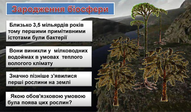 Зародження біосфери