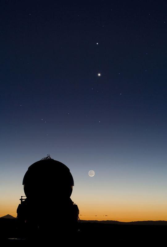 Зближення Меркурія і Венери