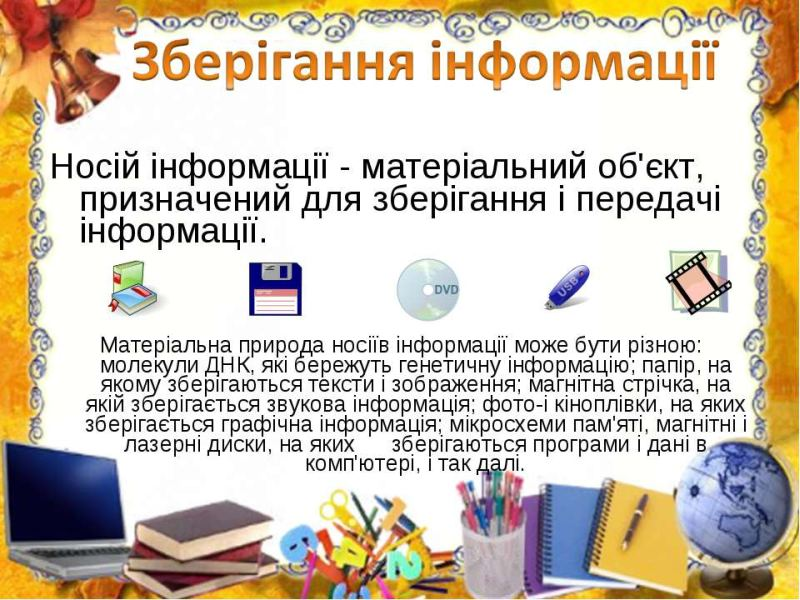 Зберігання інформації2